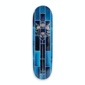 PASS~PORT Tile Life Skateboard Deck - Blue