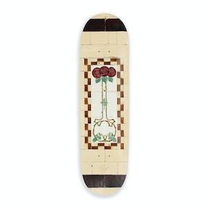 "PASS~PORT Tile Life 8.125"" Skateboard Deck - Cream"