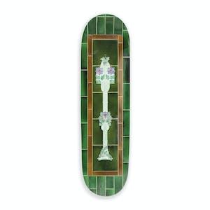 """PASS~PORT Tile Life 8.25"""" Skateboard Deck - Green"""
