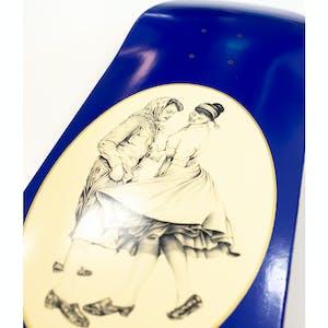"""PASS~PORT Dancer 8.5"""" Skateboard Deck - Blue"""