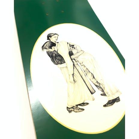 """PASS~PORT Dancer 8.38"""" Skateboard Deck - Green"""
