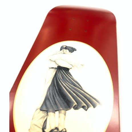 """PASS~PORT Dancer 8.25"""" Skateboard Deck - Red"""