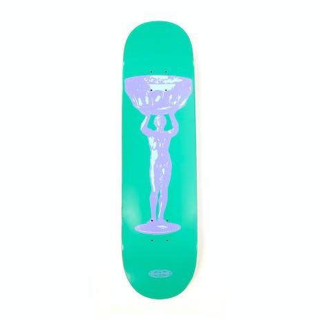 """PASS~PORT Cup Runneth 8.25"""" Skateboard Deck - Muscle Man"""