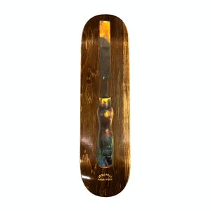 PASS~PORT Chisel Skateboard Deck - Pall