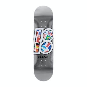 "Plan B Global Team 8.5"" Skateboard Deck"
