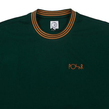 Polar Striped Rib T-Shirt - Dark Green