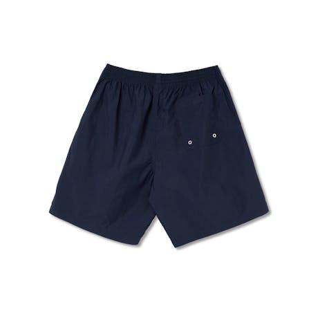 Polar Square Stripe City Swim Shorts - Navy