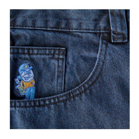 Polar 93 Denim Jeans - Black Blue
