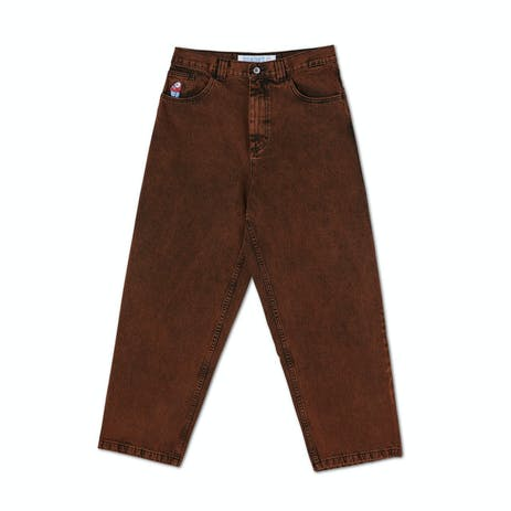 Polar Big Boy Jeans - Orange Black