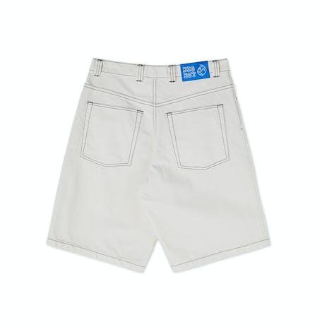 Polar Big Boy Shorts - Washed White