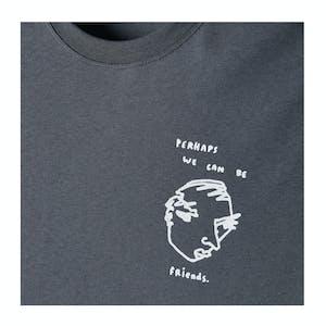 Polar Notebook Long Sleeve T-Shirt - Graphite
