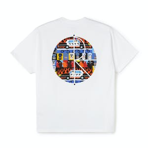 Polar ACAB Fill T-Shirt - White