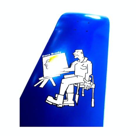 "Polar Brady Painter 7.875"" Skateboard Deck - Blue"
