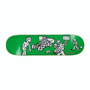 "Polar Boserio Cash is Queen 8.38"" Skateboard Deck - Green"