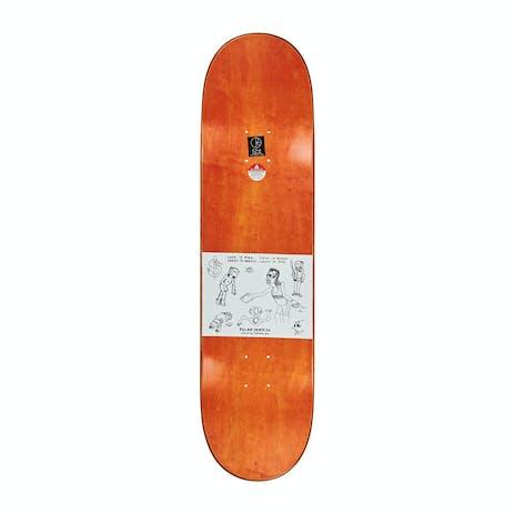 """Polar Boserio Cash is Queen 8.38"""" Skateboard Deck - Green"""