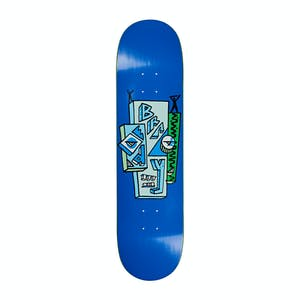 "Polar Brady Skyscraper 8.5"" Skateboard Deck - Blue"