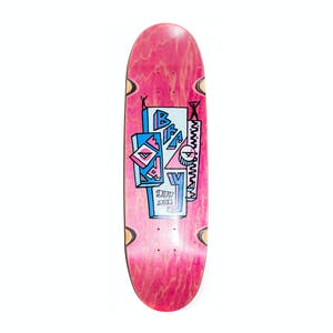 "Polar Brady Skyscraper 8.75"" Skateboard Deck - Football Shape"