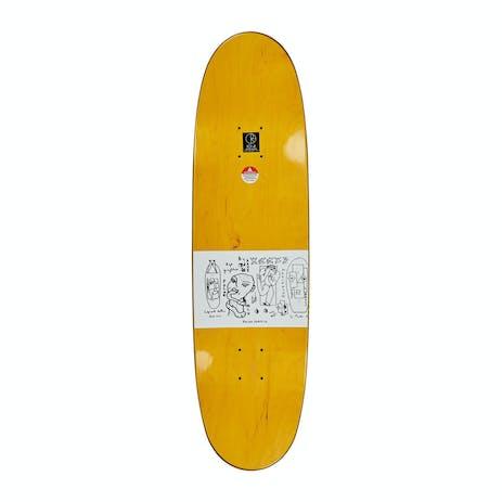 "Polar Brady Skyscraper 8.75"" Skateboard Deck - Football Shape"