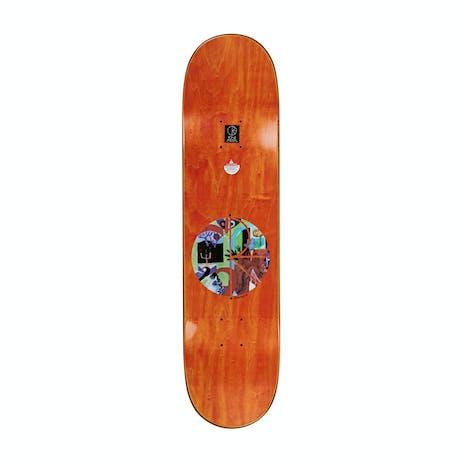 "Polar Oski Vase & Moth 8.0"" Skateboard Deck - Everslick"