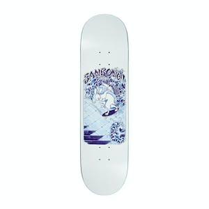 "Polar Sanbongi Skate Rabbit 8.5"" Skateboard Deck - White"