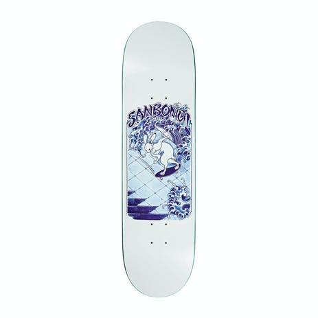 "Polar Sanbongi Skate Rabbit 8.5"" Skateboard Deck - White"
