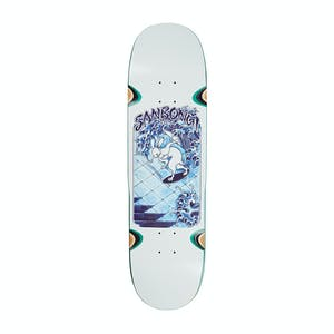 "Polar Sanbongi Skate Rabbit 8.75"" Skateboard Deck - Side Cuts Shape"