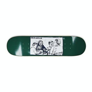 """Polar Grund Cold Streak 8.0"""" Skateboard Deck - Dark Green"""
