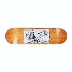 "Polar Grund Cold Streak 8.25"" Skateboard Deck - Orange"