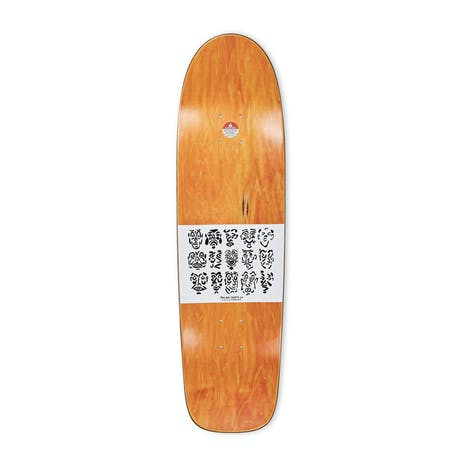 "Polar Sanbongi Faces 9.0"" Skateboard Deck - Surf Sr. Shape"