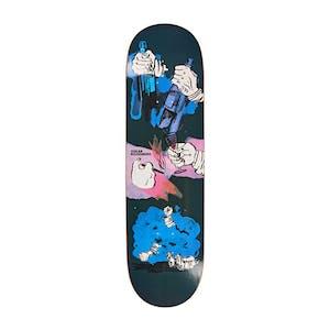 "Polar Oski Night Bender 8.25"" Slick Skateboard Deck"