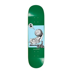 "Polar Oski Profit 8.25"" Skateboard Deck - Green"