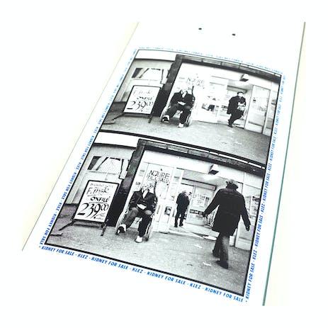 "Polar Klez Kidney For Sale 8.125"" Skateboard Deck - White"