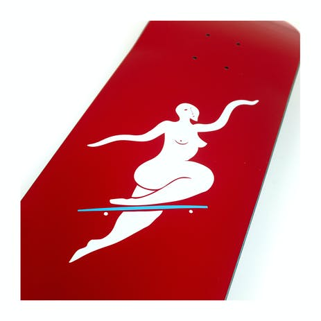 "Polar No Comply 8.25"" Skateboard Deck - Red"