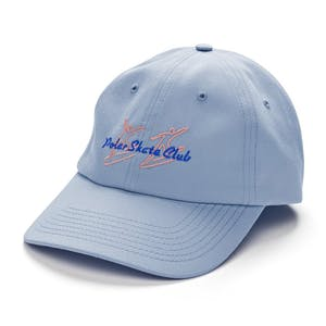 Polar Skate Club Cap - Dusty Blue