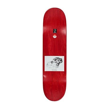 """Polar Hjalte Run Away 8.625"""" Skateboard Deck"""