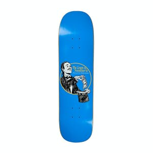 "Polar Oski The Count 8.38"" Skateboard Deck - Blue/Arigato"