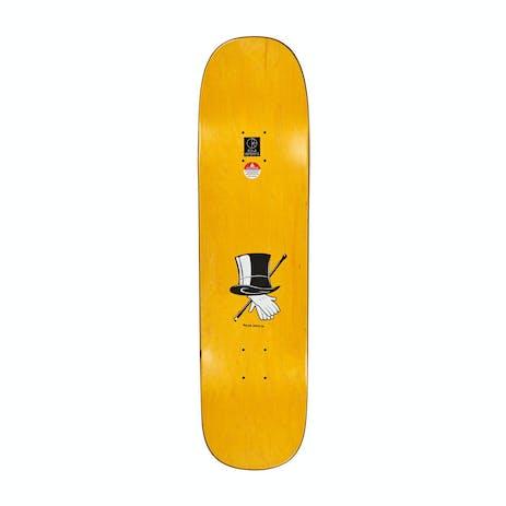"Polar Oski The Count 8.38"" Skateboard Deck - Blue/Arigato"