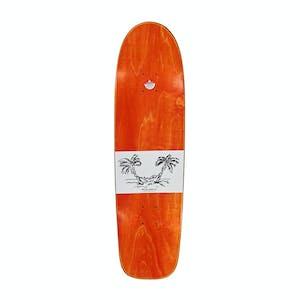 "Polar Sanbongi Freedom 8.75"" Skateboard Deck - Surf Jr. Shape/White"