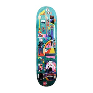"Polar Grund Frequency 8.0"" Skateboard Deck - Teal"