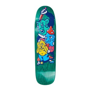 "Polar Grund Meltdown 8.625"" Skateboard Deck - Green (P9 Shape)"