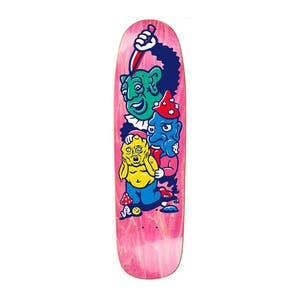"Polar Grund Meltdown 8.625"" Skateboard Deck - Coral (P9 Shape)"