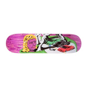 "Polar Hjalte Lambo Life 8.0"" Skateboard Deck - Coral"