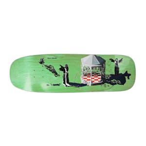 Polar Grund Rituals 1990 Shape Skateboard Deck - Light Green