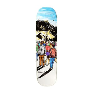 "Polar Oski Space Settlers 8.38"" Skateboard Deck - Arigato Shape"