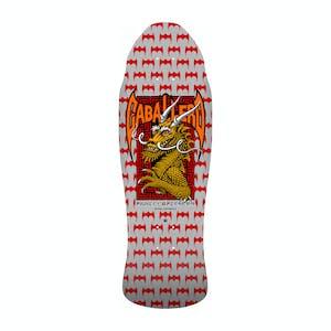 """Powell-Peralta Caballero Street Dragon 9.6"""" Skateboard Deck - Silver"""
