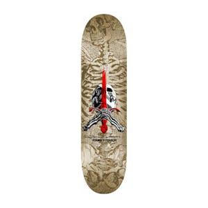 "Powell-Peralta Skull & Sword 9.0"" Skateboard Deck - Natural"