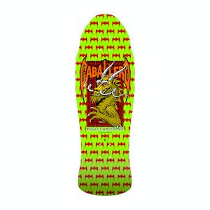"Powell-Peralta Caballero Street Dragon 9.6"" Skateboard Deck - Lime Green"