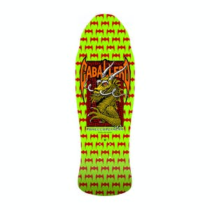 "Powell-Peralta Caballero Street Dragon 9.6"" Skateboard Deck - Lime Green"