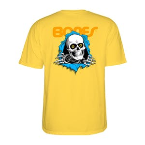 Powell-Peralta Ripper T-Shirt - Yellow