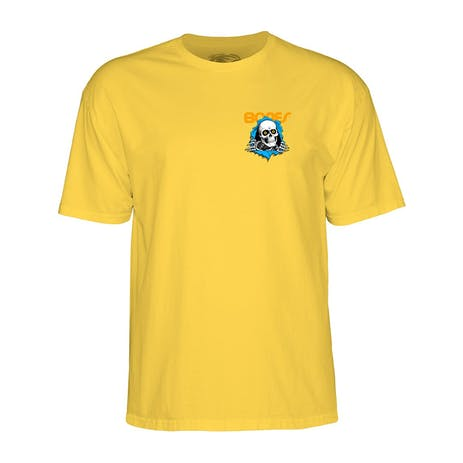 Powell-Peralta Ripper T-Shirt - Yellow
